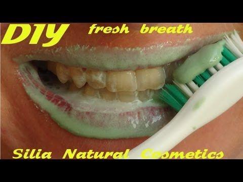 Οδοντόκρεμα σπιτική συνταγή - Φτιάχνω οδοντόκρεμα για ολόλευκα και υγιή δόντια - YouTube
