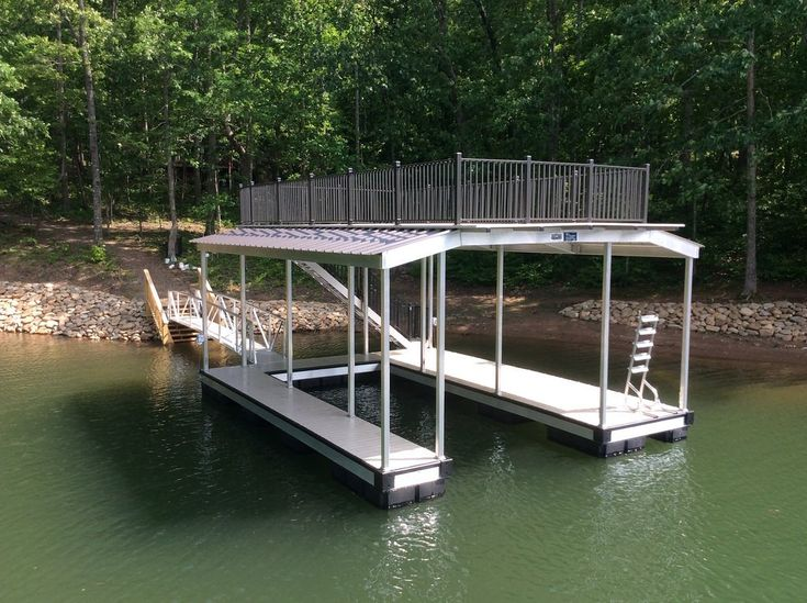 Aluminum Docks, Boat Lifts & Rip Rap | Sundeck Docks Gallery