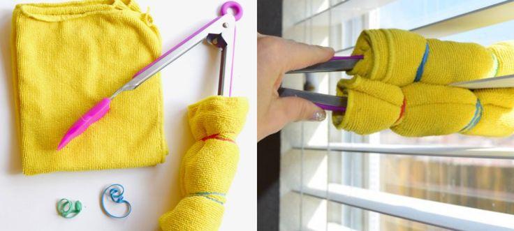 luxaflex schoonmaken