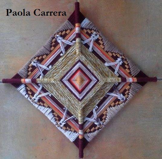 Mandala realizado por Paola Carrera…