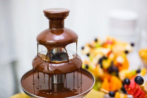 5 recepten met een chocoladefontein