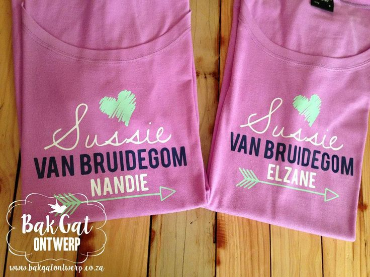 Personalised clothing #lovepink
