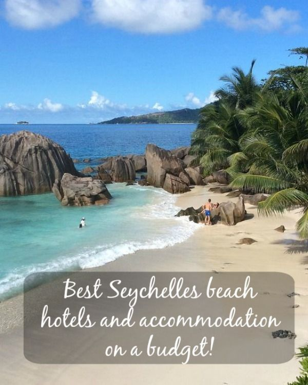 Vacation in Paradise - beautiful beach on La Digue, Seychelles. Find best #Seychelles beach #hotels and accommodation on a budget, use coupons, rebates and promotions!