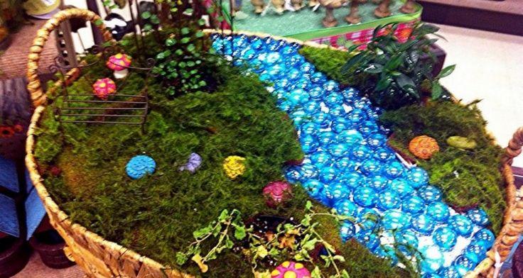19 Interesting Fairy Garden Furniture Ideas