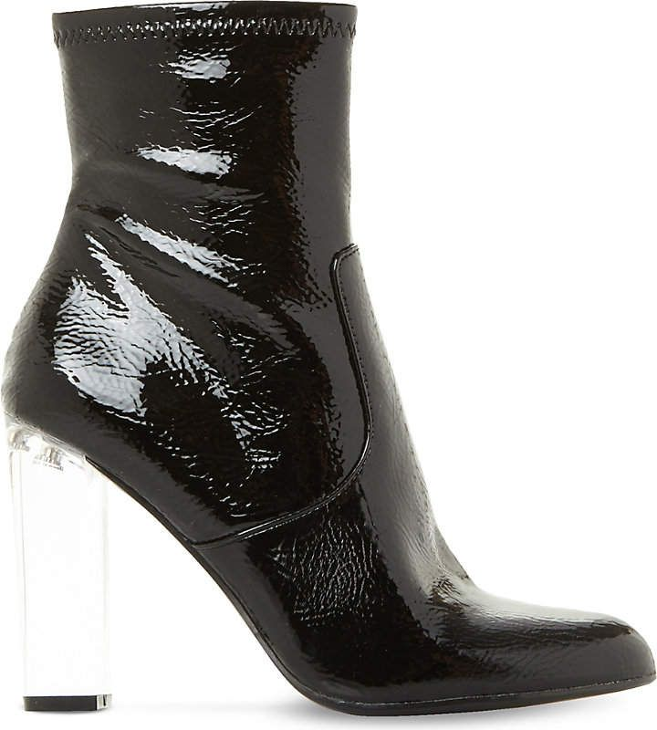 ddc14e6acee Patent Leather Clear Heel Ankle Boots | 2018 Fashion Trends | Obsessions  Now Blog