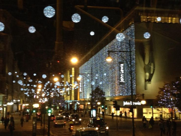 Oxford Street lights #LondonXmas LONDON Christmas 2013