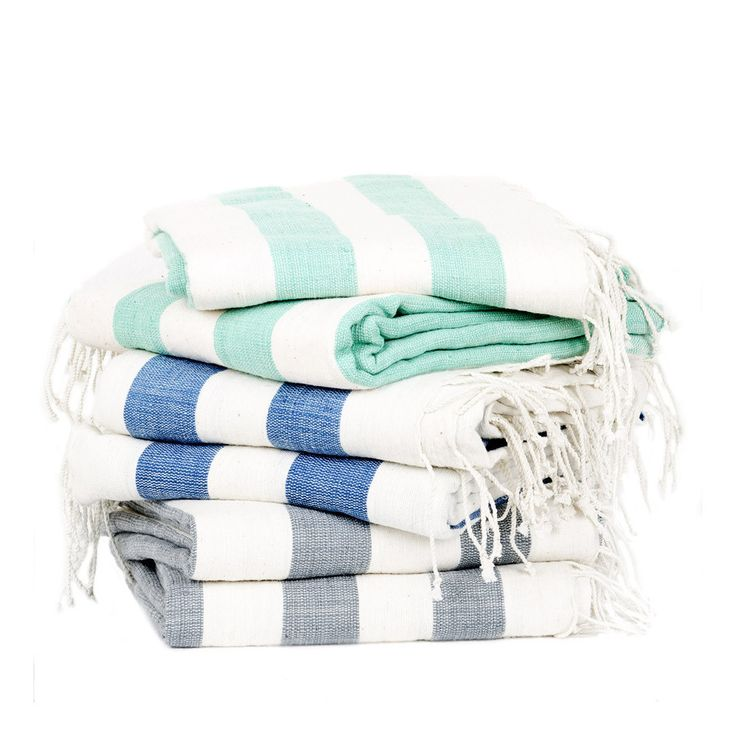 Handmade Ethiopian Cotton Towels – All natural Ethiopian cotton with beautiful stripes of color. These pieces are perfect in the bathroom and kitchen. Absorbent and quick drying cotton.