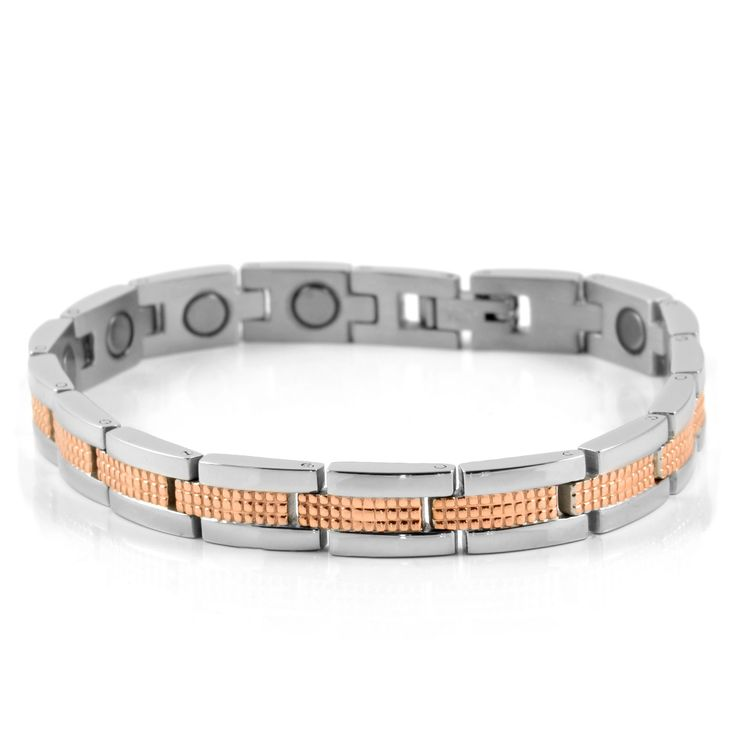 Rosegold Kirurgisk Magnetarmbånd - 345,00kr