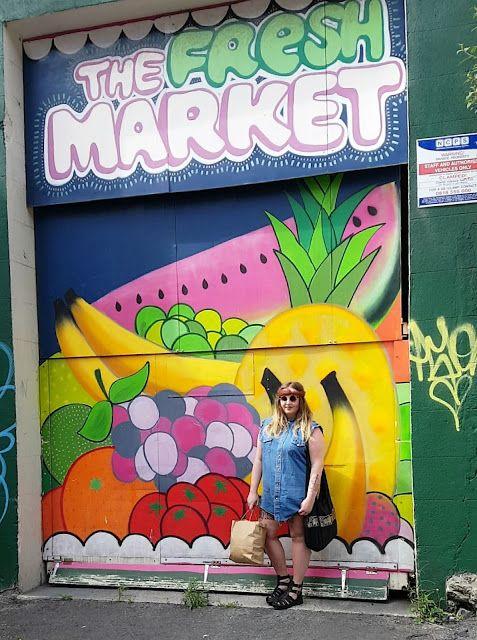 My Wardrobe Adventures: Fresh Market - OOTD #OOTD #fbloggers #fashionblogger #sassy #colourful #fruit #whatiwore #streetart #graffiti