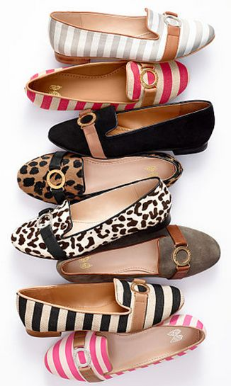 fancy flats - I'll take a pair in each color, please!