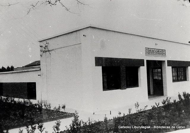 Estación depuradora de aguas de Martikoena, 1980  (Colección Archivo municipal) (ref. SN00445)