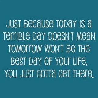 Bad Day....Thinking Positive, Remember This, Life, Inspiration, Keep Swimming, Quotes, Chin Up, Keep Moving Forward, True Stories