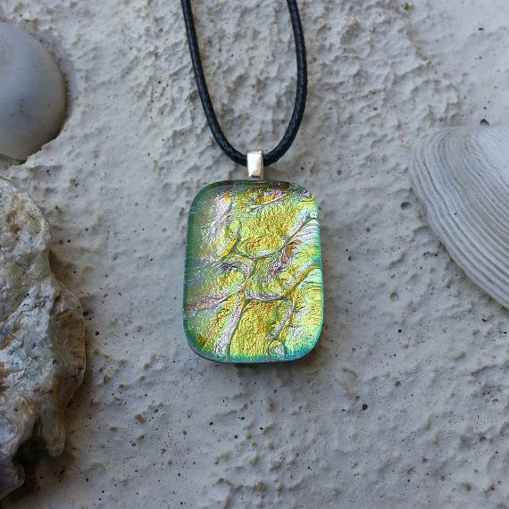 Eos Glass Pendant & Necklace No 1. by IsabellaJewelDesigns on Etsy