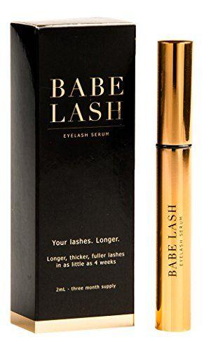 Babe Lash Eyelash Serum, 2ml BABE LASH https://www.amazon.ca/dp/B01C2EFBZU/ref=cm_sw_r_pi_dp_.zyaxb7TP3SS6