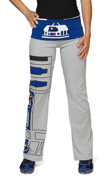 R2-D2 Ladies Yoga Pants. I would totally wear those!