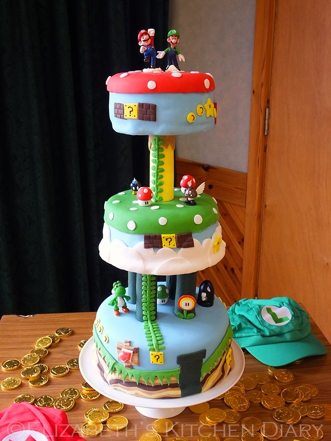 super mario birthday cake 27 best images about mario bros birthday on 7837