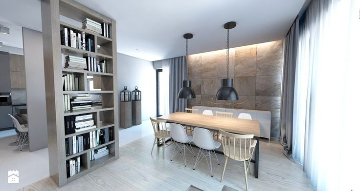 Jadalnia, styl nowoczesny - zdjęcie od A2 STUDIO pracownia architektury