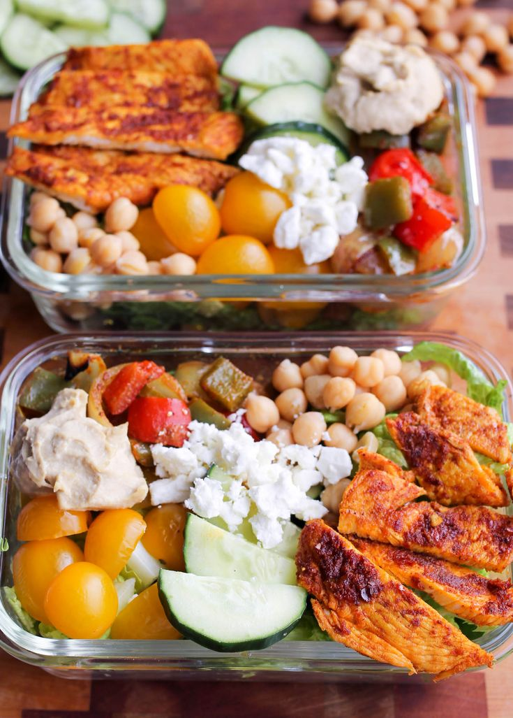 Mediterranean Chicken Bowls are a healthy meal prep recipe or easy weeknight dinner recipe that can be made in one sheet pan! It's my first day back from Jamaica and I'm still missing the 85-degree weather here in the freezing temperatures of Chicago. We spent four days in Montego Bay for a wedding at the...