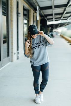 How to Wear Active Wear Outside the Gym by East Memphis fashion blogger Walking in Memphis in High Heels