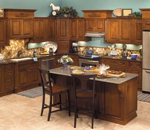 Brown Cabinet Kitchen Ideas: 40 Best Starmark Cabinets Images On Pinterest