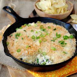 Jalapeno popper dip ~ Here's the popular jalapeno popper taste in the form of this healthy, spicy, cheesy and supremely addictive dip.