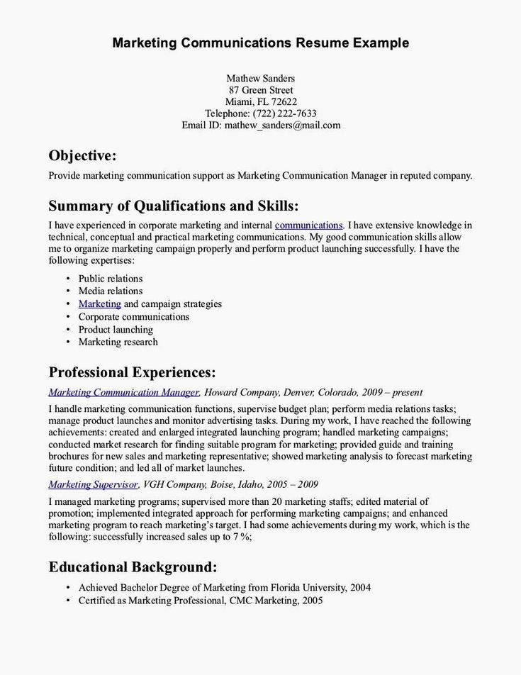 Communication Skills Resume Examples Luxury Cover Letter ...