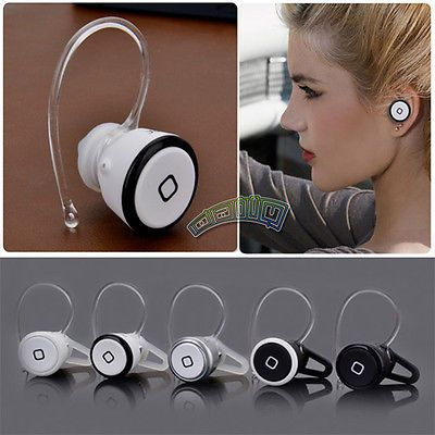 Universal Mini Wireless Bluetooth Handsfree Headset Earphone For iPhone Samsung