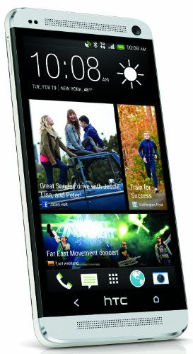 HTC One M7  Factory Unlocked Cellphone, 32GB, Silver
