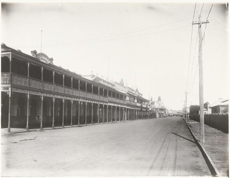 BA1271/346: Marine Terrace, Geraldton, ca 1920. http://encore.slwa.wa.gov.au/iii/encore/record/C__Rb2109157?lang=eng