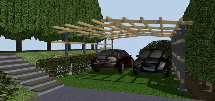 https://flic.kr/s/aHskC14MWz | Structural design of a pergola