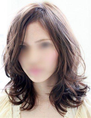 画像:女性の髪型-ウルフカットサンプル