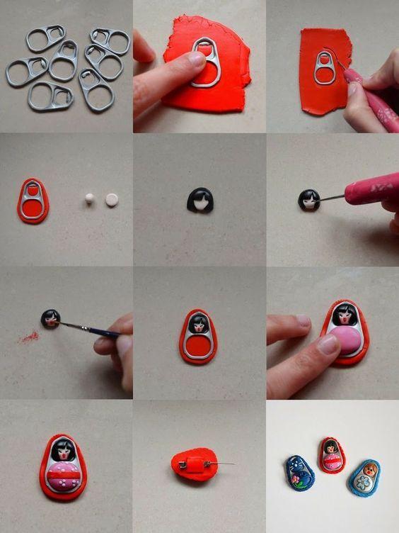 Bellissime #Idee di #RiusoCreativo http://mercatinousato.com  @Pianetadonna http://blog.pianetadonna.it/trucchigeniali/20-idee-tutorial-realizzare-semplice-riuso-delle-linguette-delle-lattine/ … #BIRRA #COCACOLA #Riuso #linguette #lattine