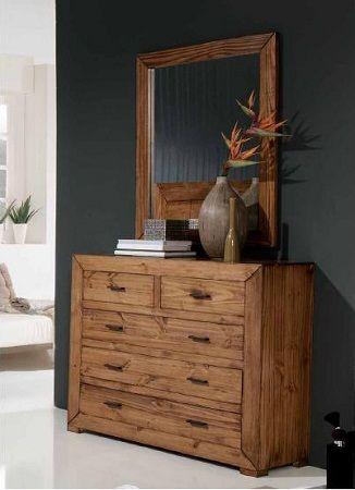 Cómodas de madera: Rústicas y perfectas para tu habitación | Muebles - Decora Ilumina