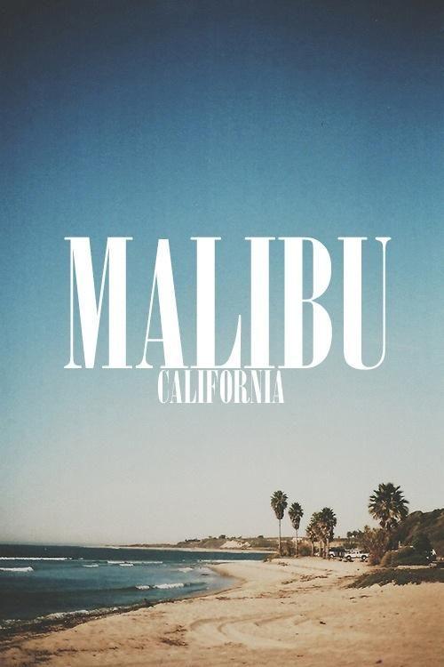 Malibu, California. Paradise. |Repinned by www.borabound.com