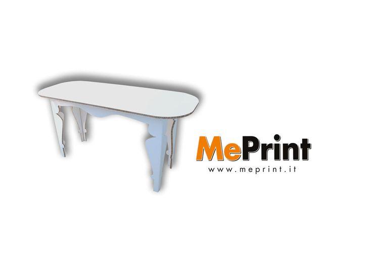 #tavolo in #cartone completamente personalizzabile. #stampa quello che vuoi sul tavolo in cartone! Stampalo su www.meprint.it #meprint