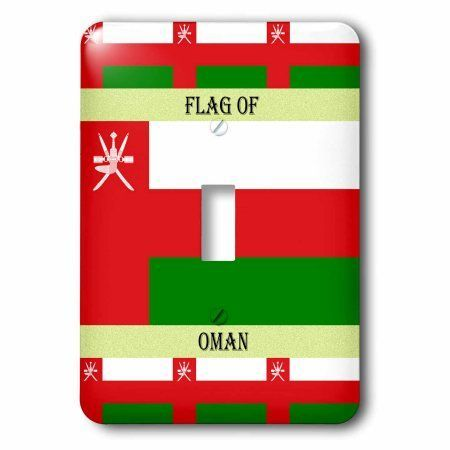 3dRose Flag of Oman, Double Toggle Switch