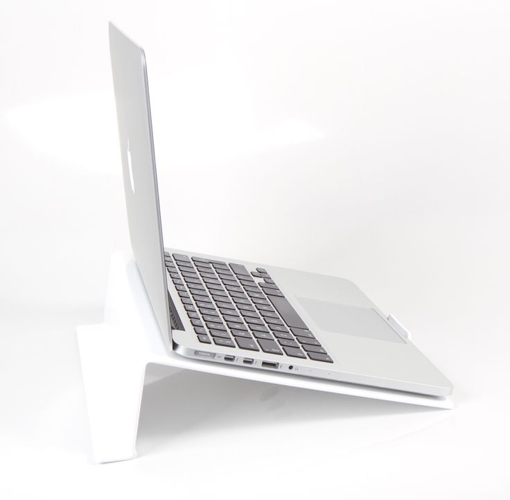 LapStop: White | iStop Shop Ergonomic Support for your Laptop #sleekstyles #workstations #desks #workspace #computer #technology #designs #ergonomics #support #geekery #sleek #products #health #fitness #body #alignment #chairs