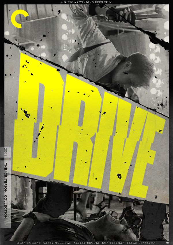 Nicolas Winding Refn's DRIVE   Film Poster Concepts / Fake Criterion Series