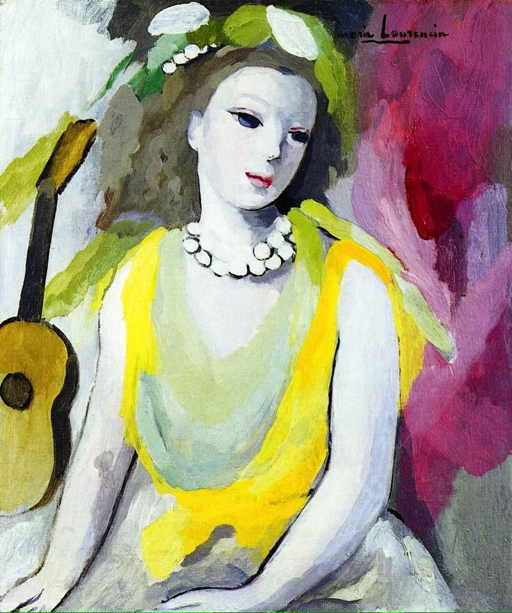 Painting by Marie Laurencin