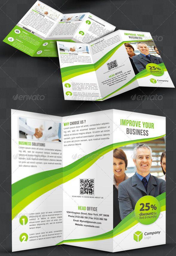 awesome tri fold brochure design - 18 best brochures inspiration references images on
