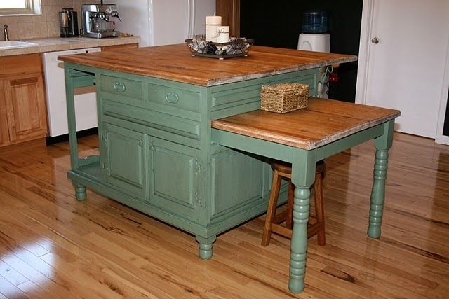 kitchen island with pull out table diy kitchen island makeover kid islands and 27109