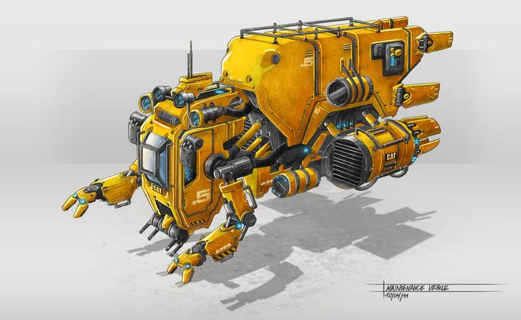 Machine by TheUncannyKen.deviantart.com on @deviantART