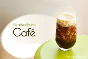 Granizado de café casero, todo un clásico para combatir el calor preparado en menos de 2 minutos.