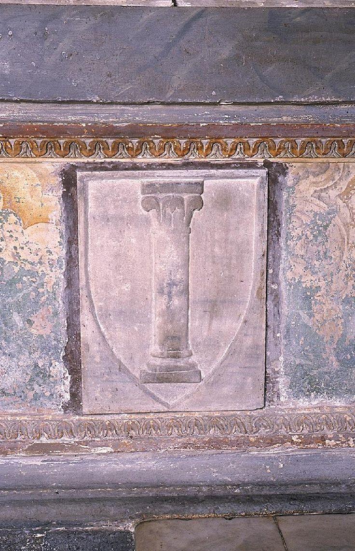stemma marmoreo dei colonna