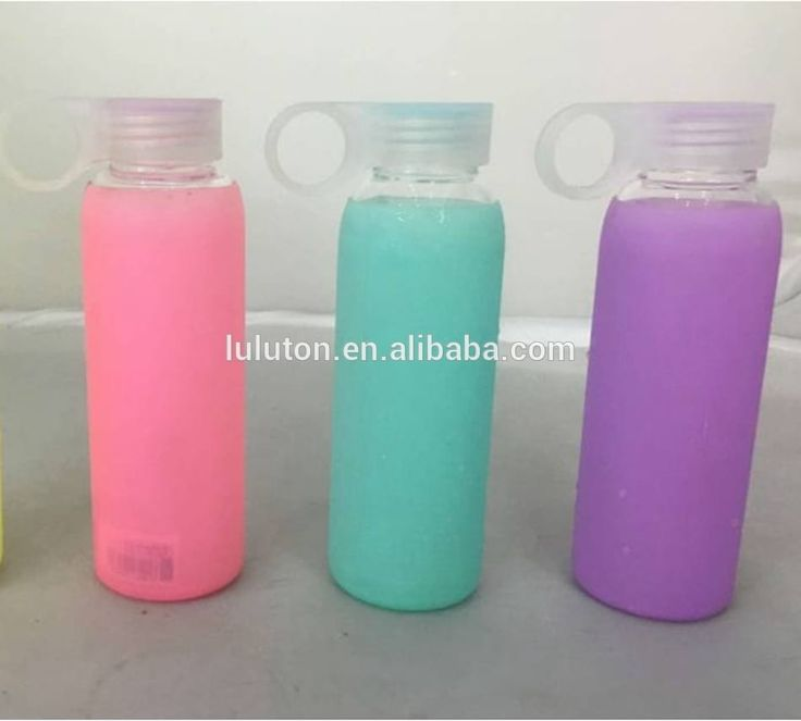 www.lltbottles.com best glass water bottle water bottles glass bottle Best Selling Glass Water Bottle with Silicone Sleeve plastic lid bpa free