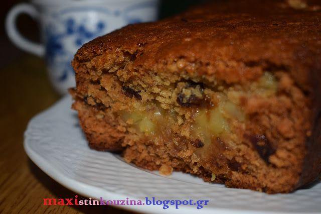 Μάχη στην κουζίνα: Κέικ με Μήλο, Μέλι και Κουάκερ