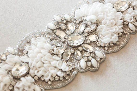 bridal sashes and belts -  soft