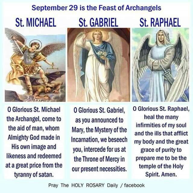 Lucifer Malaikat: September 29th Is The Feast Of The Archangels