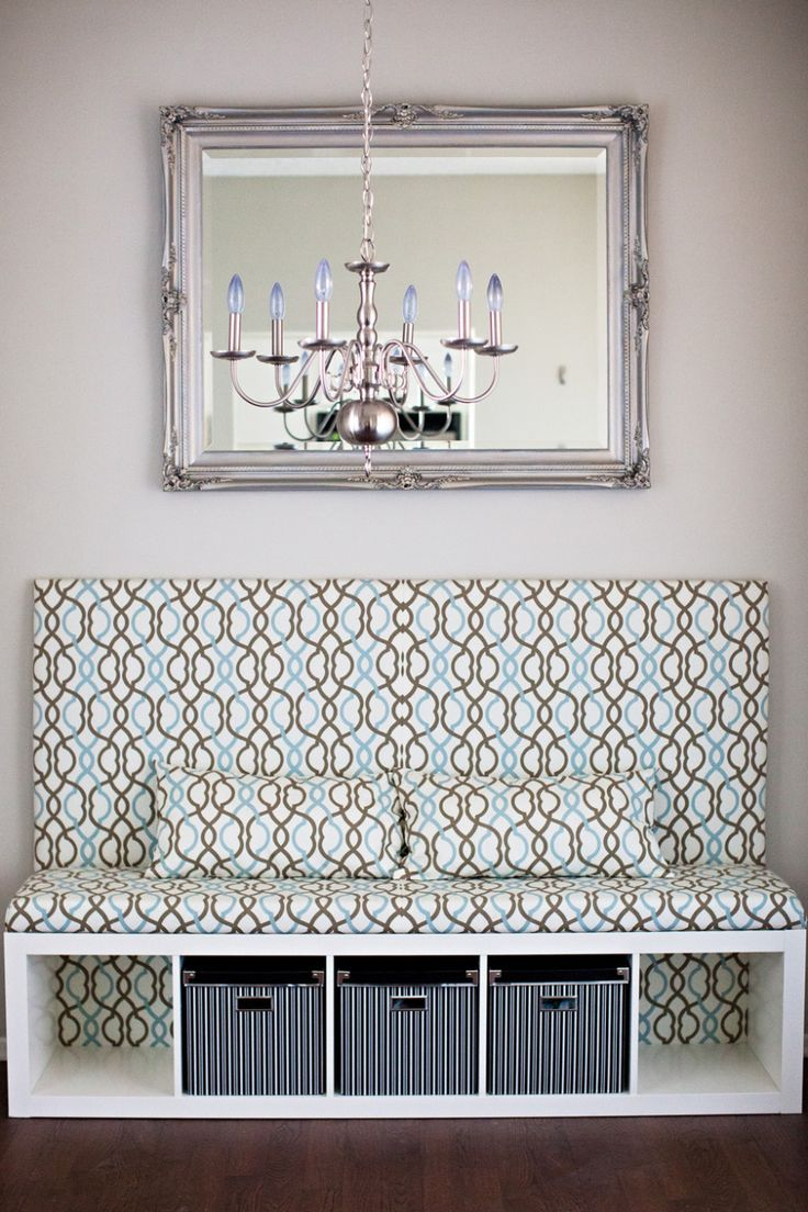 DIY Banquette Seat   Ikea Hack   Dining Room Makeover...if I ever convince frank to do dining room/homeschool switch