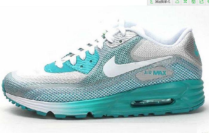 Il Hot Nike Air Max 90 Lunar Bianco Blu Scarpe Da Corsa Per Le Donne con Lo Sconto